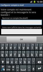 Samsung I9100 Galaxy S II - E-mail - Configuration manuelle - Étape 11