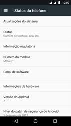 Motorola Moto G5 - Funções básicas - Como atualizar o software do seu aparelho - Etapa 5