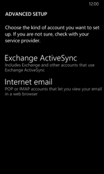 Nokia Lumia 630 - E-mail - Manual configuration - Step 11