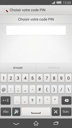 Sony Xperia Z2 - Sécuriser votre mobile - Activer le code de verrouillage - Étape 7