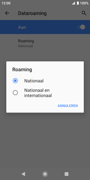 Sony xperia-xz2-h8216-android-pie - Buitenland - Internet in het buitenland - Stap 9