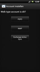 Sony Ericsson Xperia Neo met OS 4 ICS - E-mail - Handmatig instellen - Stap 9