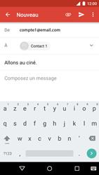 Motorola Moto G 3rd Gen. (2015) - E-mail - envoyer un e-mail - Étape 9