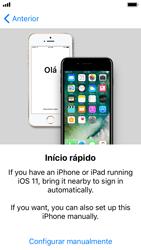 Apple iPhone 5s - iOS 11 - Primeiros passos - Como ligar o telemóvel pela primeira vez -  9