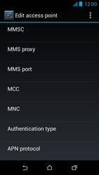 HTC Desire 310 - MMS - Manual configuration - Step 12