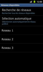 Samsung I8530 Galaxy Beam - Réseau - utilisation à l'étranger - Étape 12