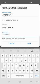 Samsung Galaxy S10 Plus - Internet - Set up mobile hotspot - Step 11