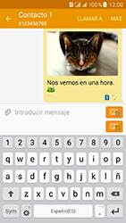 Samsung Galaxy J3 (2016) DualSim (J320) - Mensajería - Escribir y enviar un mensaje multimedia - Paso 24