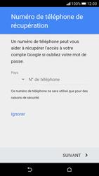 HTC Desire 626 - Premiers pas - Créer un compte - Étape 19