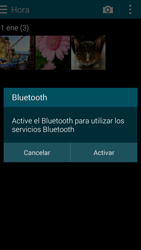 Samsung G850F Galaxy Alpha - Bluetooth - Transferir archivos a través de Bluetooth - Paso 9