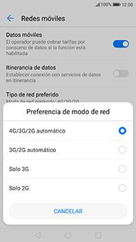 Huawei P10 Plus - Red - Seleccionar el tipo de red - Paso 6
