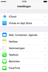 Apple iPhone 4s iOS 8 - E-mail - Account instellen (IMAP zonder SMTP-verificatie) - Stap 3