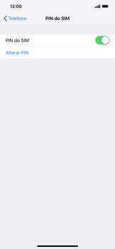 Apple iPhone XR - Segurança - Como ativar o código PIN do cartão de telemóvel -  8