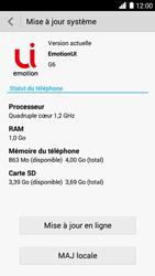 Huawei Ascend G6 - Réseau - Installation de mises à jour - Étape 7