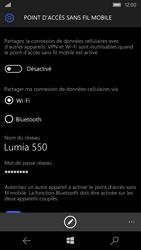 Microsoft Lumia 550 - Internet et connexion - Partager votre connexion en Wi-Fi - Étape 6