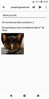 Sony Xperia XZ2 - E-mails - Envoyer un e-mail - Étape 14