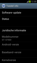Samsung S7560 Galaxy Trend - Software updaten - Update installeren - Stap 5