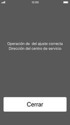 Apple iPhone 5s - iOS 11 - Mensajería - Configurar el equipo para mensajes de texto - Paso 6