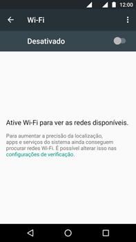 Motorola Moto G (4ª Geração) - Wi-Fi - Como configurar uma rede wi fi - Etapa 5