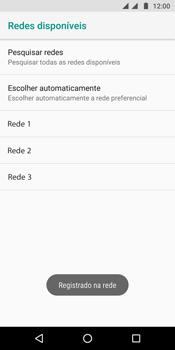 Motorola Moto G6 Plus - Rede móvel - Como selecionar o tipo de rede adequada - Etapa 12