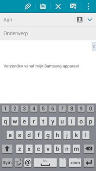 Samsung N910F Galaxy Note 4 - E-mail - hoe te versturen - Stap 5