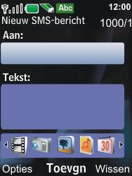 Nokia 6600i slide - MMS - Afbeeldingen verzenden - Stap 5
