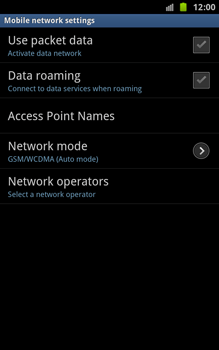 Samsung N7000 Galaxy Note - Internet - Enable or disable - Step 6