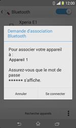 Sony D2005 Xperia E1 - Bluetooth - connexion Bluetooth - Étape 9