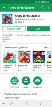 Samsung Galaxy S8 - Android Oreo - Aplicações - Como pesquisar e instalar aplicações -  16