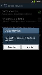Samsung Galaxy S4 - Internet - Activar o desactivar la conexión de datos - Paso 7