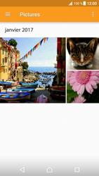 Sony Xperia XZ Premium - Photos, vidéos, musique - Envoyer une photo via Bluetooth - Étape 9