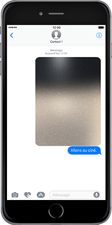 Apple iPad Mini 3 iOS 10 - iOS features - Fonctions iMessage - Étape 7