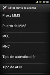 Sony Xperia E - Internet - Configurar Internet - Paso 12