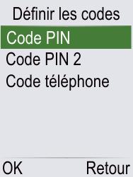 Doro Phone Easy 621 - Sécuriser votre mobile - Personnaliser le code PIN de votre carte SIM - Étape 6