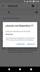 Sony Xperia XZ1 - Bluetooth - Conectar dispositivos a través de Bluetooth - Paso 8