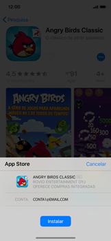 Apple iPhone X - iOS 12 - Aplicações - Como pesquisar e instalar aplicações -  14