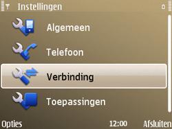 Nokia E72 - MMS - handmatig instellen - Stap 6