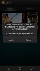 Sony Xpéria SP - Photos, vidéos, musique - Envoyer une photo via Bluetooth - Étape 10