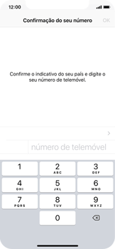 Apple iPhone X - Aplicações - Como configurar o WhatsApp -  8