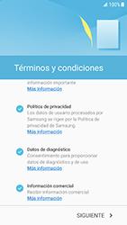 Samsung Galaxy S6 - Android Nougat - Primeros pasos - Activar el equipo - Paso 6