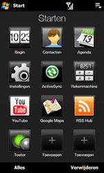 HTC T7373 Touch Pro II - E-mail - Hoe te versturen - Stap 3