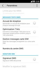 Huawei Ascend G6 - SMS - configuration manuelle - Étape 5