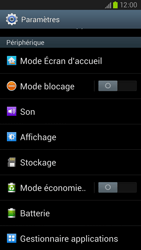Samsung Galaxy S3 4G - Applications - Supprimer une application - Étape 4