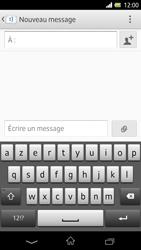 Sony Xpéria Z - Contact, Appels, SMS/MMS - Envoyer un SMS - Étape 5