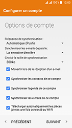 ZTE Blade V8 - E-mail - Configuration manuelle (outlook) - Étape 11