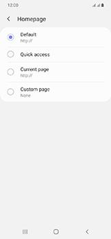 Samsung Galaxy A20e - Internet - Manual configuration - Step 27