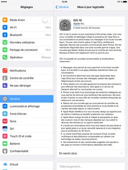 Apple iPad Air 2 iOS 10 - Réseau - Installation de mises à jour - Étape 6