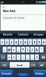 Samsung Wave 2 - Contact, Appels, SMS/MMS - Envoyer un MMS - Étape 7
