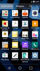 LG K4 - Contact, Appels, SMS/MMS - Envoyer un SMS - Étape 3