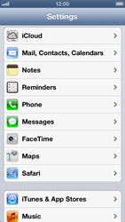 Apple iPhone 5 - Email - Manual configuration - Step 3